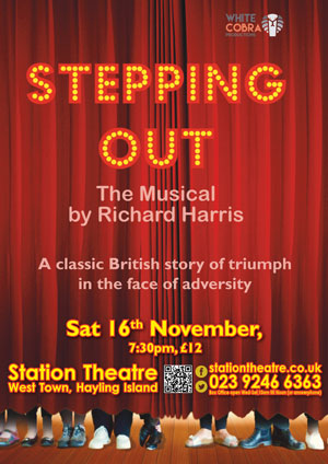 Hayling Island What's On Event Stepping Out - The Musical Poster