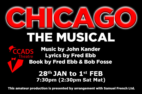 Hayling Island What's On Event CHICAGO - The Musical