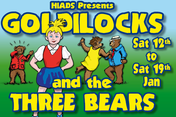 Hayling Island What's On Event Goldilocks and the Three Bears