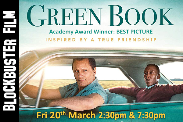 Banner for Green Book