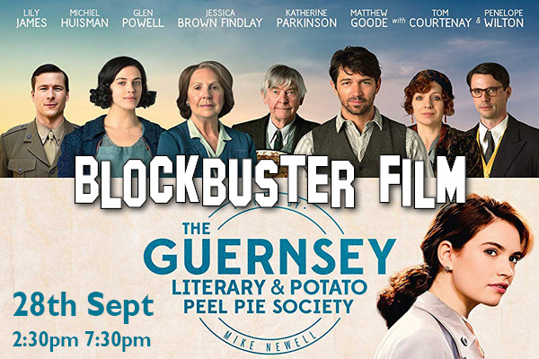 Hayling Island What's On Event The Guernsey Literary and Potato Peel Pie Society