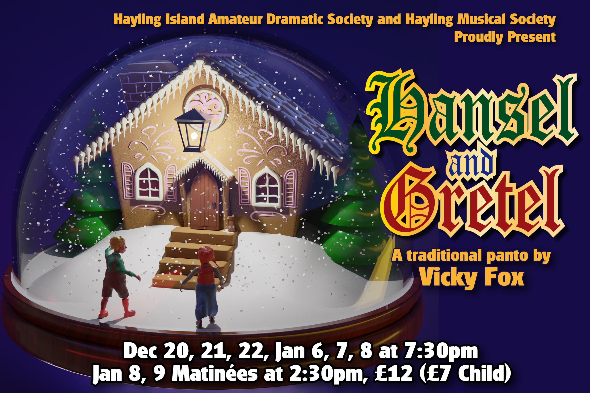 Banner for Hansel and Gretel
