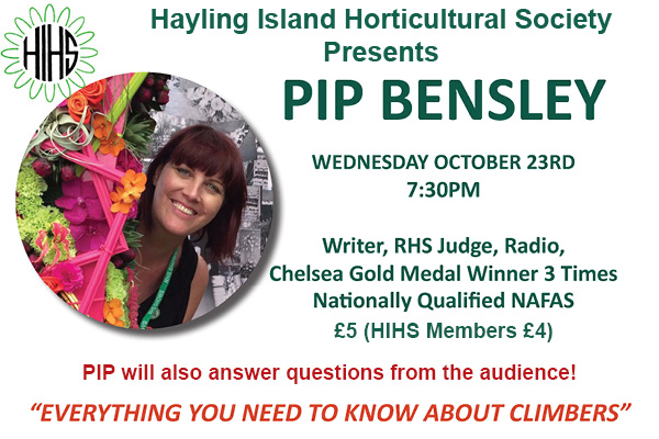 Hayling Island What's On Event Pip Bensley