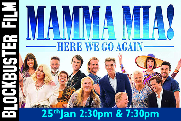 Hayling Island What's On Event Mamma Mia! Here We Go Again