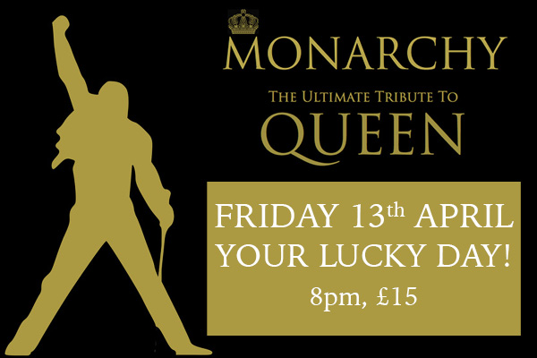 Hayling Island What's On Event MONARCHY: The Ultimate Tribute to QUEEN