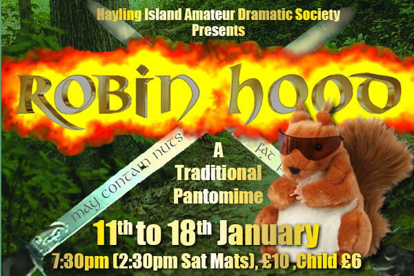 Hayling Island What's On Event Robin Hood