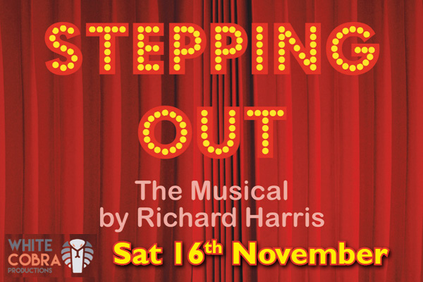 Banner for Stepping Out - The Musical