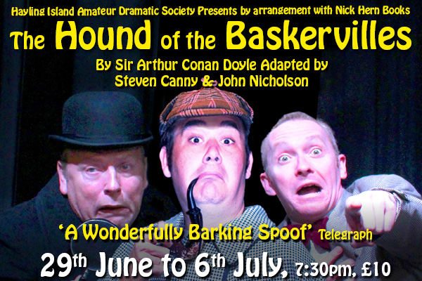 Hayling Island What's On Event The Hound of the Baskervilles