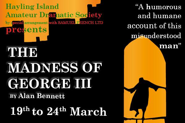 Hayling Island What's On Event The Madness of George III