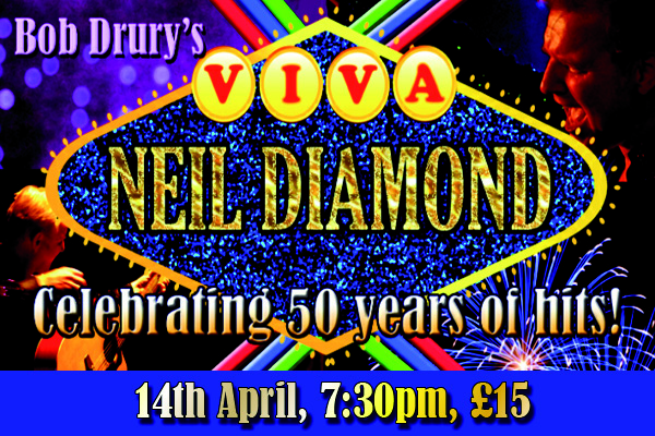 Hayling Island What's On Event Viva Neil Diamond